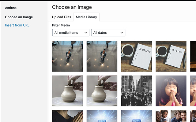 Screenshot showing the image module in the Divi builder